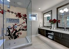 Unique bathroom Luxury Homes, Buffet, Gallery Wall, Bathroom, Storage, Unique, Furniture, Design, Home Decor