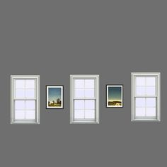 What the new digital images might look like between three windows.