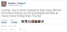 trump tweet funny fake news humor president USA