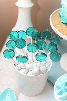 Bubble lollipops