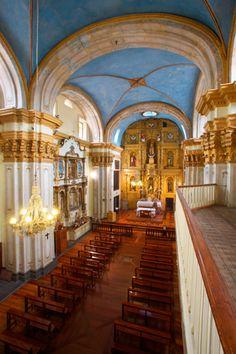 Nave principal El Carmen alto, Quito - Ecuador