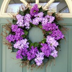 Spring Wreath  Mothers Day Wreath  Wreath for by countryprim, $38.00