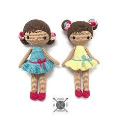 Te regalamos el patrón de ganchillo de la muñeca Chloe, diseñada en exclusiva para DMC porLa Crocheteria. Está realizada con Natura Just Cotton, nuestro hilo estrella de algodón mate disponible en 60