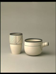 Spouted bowl by Homoky, Nicholas, 1979 (made). Modern Ceramics, Cupping Set, Ceramic Pottery, Cups, British, Relationship, Mood, Collections, Studio