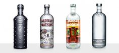 Exclusive – Absolut Vodka Limited Edition Bottles » Design You Trust. Design, Culture & Society.