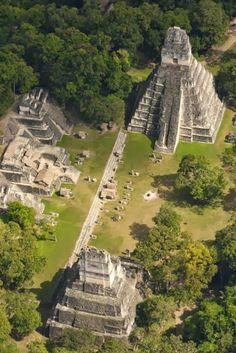 El templo del Gran Jaguar, GUATEMALA