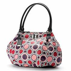 ELLE Chantal Geometric Shopper Fall Handbags, Kohls, Shoulder Bag, My Love, My Style, Fashion, Moda, Fashion Styles, Shoulder Bags