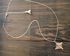 """-14k Rose Gold Fill, 925 Sterling Silver  -Sterling silver chain  -17 1/2 inch chain + 2 inch extender  -Pendant = 1 1/4"""" x 7/8""""  -Signature Silk Tassel    This necklace was inspired by a trip out west I took with my family when I was a kid where I was introduced and became fascinated by many different Native American cultures. The Ojo de Dios, also know as Sikuli, or Eye of God is a spiritual object representing the power to see and understand things unknown. And the four points represent…"""