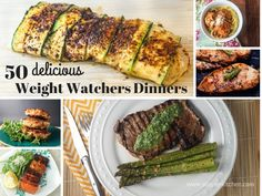 50 delicious healthy Weight Watchers friendly dinners