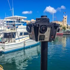 An awesome Virtual Reality pic! More 360 video capture Bridgetown Harbour Barbados. Virtual Tourist #barbados2016 #barbados #bridgetown @barbadostravel @barbadoshour #beachlife #port #boats #caribbean #panoramic #panorama #360 #360º #360vr #360view #360video #facebook360 #youtube360 #kolor #tourism #virtualreality #oculus #samsung #samsunguk #gearvr #googlecardboard #gopro360 #freedom360 #hero360 #gopro #visitbarbados #caribbeansea  Cant wait to get this footage edited as it is look so cool…