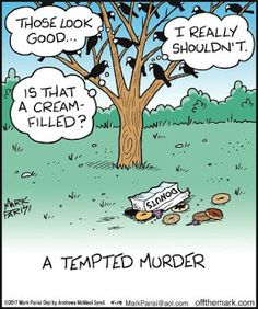 Mystery Fanfare: Cartoon of the Day: A Tempted Murder << I almost didn't save this. Funny Cute, The Funny, Funny Cartoons, Funny Memes, Cartoon Humor, Cartoon Tv, Funny Comics, Grammar Humor, Biology Humor