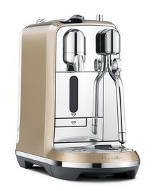 Brand New Breville BNE600RCHUSC Nespresso Creatista Espresso and Coffeemaker  Royal Champagne Color >>> Read more  at the image link.(It is Amazon affiliate link) #HomeAppliancesCollection