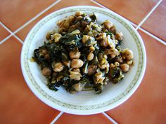 Syrian Chickpeas with Chard