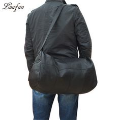 Online shopping for Sports & Travel Bags with free worldwide shipping Fashion Leaders, International Fashion, Leather Material, Cow Leather, Travel Bags, Leather Shoulder Bag, Winter Jackets, Unique Products, Warehouses