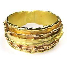 Athena's Treasures - Damaskos Melting Walls Band Ring, $916.39 (http://www.athenas-treasures.com/products/Damaskos-Melting-Walls-Band-Ring.html)