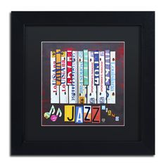 Jazz Series Piano by Design Turnpike Framed Graphic Art