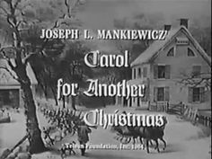 Carol For Another Christmas (rare 1964 movie) Joseph L. Mankiewicz, Rod Serling. Unmodified original - YouTube