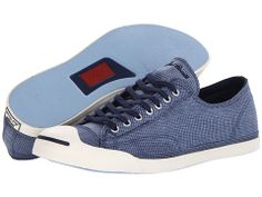Converse Jack Purcell® LP L/S Washed Check Slip-On