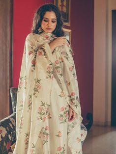 Printed Small Boota Mewad Set – Maisara Clothing