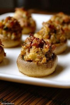 Goddelijke gevulde champignons - Lovemyfood.nl