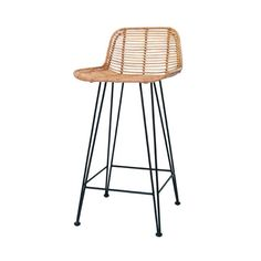 HK-Living Rattan barstool natural ✓Shipped the same day ✓Fast delivery ✓Safe payment (SSL) ✓30 day return policy