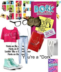 """Dork Diaries"" by apollonalexandra ❤ liked on Polyvore"
