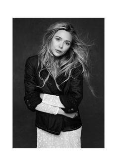 Ashley Olsen photographed by Karl Lagerfeld for Chanel Little Black Jacket