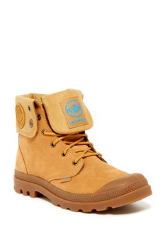 Baggy Leather Gusset Work Boot - Waterproof