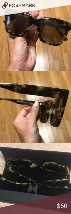 Mvmt Sunglasses! Tortoise sunglasses, reflective lenses. Worn once. Come with case & cloth! MVMT Accessories Sunglasses