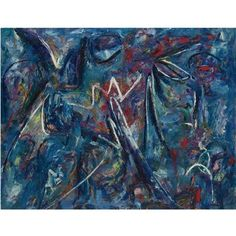 Lee Krasner, Blue Painting