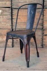 Chaise de bistrot Tolix A Service, Furnitures, Dining Chairs, Sweet Home, Vintage, Color, Design, Home Decor, Style