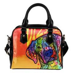Vizsla Shoulder Handbags $159.99 - $44.99 Vizsla Shoulder Handbags Are you a Vizsla Owner who loves their Dog? Then these custom designed Premium Shoulder Bags are a MUST HAVE!Manufactured with premium water-resistant PU leather.Features a double-sided printFeatures comfortable and sturdy carrying straps with high-quality stitching for long-lasting durabilityIncludes an adjustable and removable shoulder strap.Finished with multiple interior compartments to keep your items organized.Each…