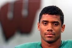 Russell Wilson, so glad we was a Badger