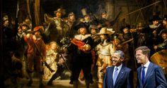 Nachtwacht, Obama and Rutte | Flickr - Photo Sharing!