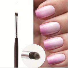 Professional Nail Art Brush/Manicure Gel Polish Brush/Gradual Color Blooming Nail Drawing Pen Nail Art Design Pen Manicure Tool