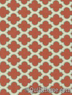 Deer Valley JD25-Terra Cotta Fabric by Joel Dewberry