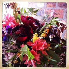 flowers in the pyrus studio