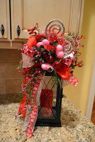 Kristen's Creations: Valentine Lantern Swags, Tassels, And Frames