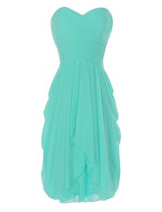 online shopping for onlinedress Women's Sweetheart Ruffles Bridesmaid Dress Short Party Gown from top store. See new offer for onlinedress Women's Sweetheart Ruffles Bridesmaid Dress Short Party Gown Ruffles Bridesmaid Dresses, Grad Dresses, Wedding Dresses Plus Size, Plus Size Dresses, Short Dresses, Formal Dresses, Prom Dress, Quince Dresses, Prom Gowns