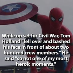 """It was luckily just before my last shot; they were like, 'Roll cameras!' I was getting into position, everything went wrong, and they still did the take anyway. It looks great, and they'll probably just CGI out all the blood, and yeah, I was very lucky."" 