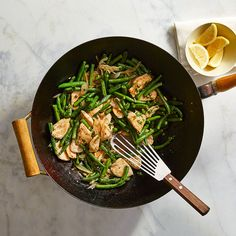 Chicken Piccata Stir-Fry | Recipes | Weight Watchers