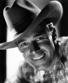 Randolph Scott: Could you peer a little more closely at the camera, please?