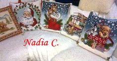 ...e Natale sia ...coi miei nuovi cuscini ...