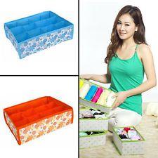 Home Organization Nonwoven Bra Underwear Socks Gloves Towel Receive Storage Bag