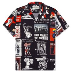 Rage Against The Machine, Mens Button Up, Japan Fashion, Signature Style, Hawaiian, What To Wear, Street Wear, Men Casual, Japan Style