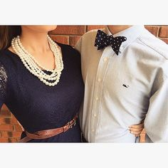Pearls and Bow Ties