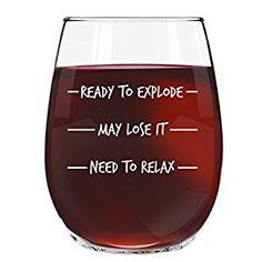 Funny wine glass for hard day. Fun Wine Glasses, Funny Wine, My Big Love, Funny Wine Glasses