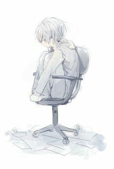 Sɪɢᴏ ʙᴜsᴄᴀɴᴅᴏ ʟᴀ sᴏʟᴜᴄɪᴏ́ɴ ᴀ ᴛᴏᴅᴏs ᴍɪs ᴘʀᴏʙʟᴇᴍᴀs. Sad Anime, Cute Anime Boy, Kawaii Anime, Nagisa Shiota, Sad Drawings, Japon Illustration, Natsume Yuujinchou, Anime Child, Estilo Anime