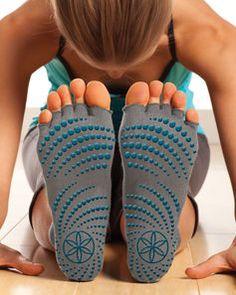 4ce5c76e50d Toeless Yoga Socks - Yoga Clothing  amp  Accessories - Gaiam Toeless Socks