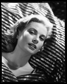 "Bud Fraker, Grace Kelly in ""To Catch a Thief"" directed by Alfred Hitchcock, 1955"